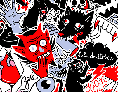 Paranormality. Stickers for Telegram