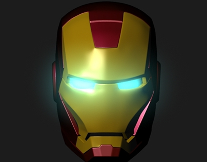 Personal Project: Ironman Helmet