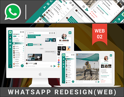 WHATSAPP(WEB) - REDESIGN CONCEPT