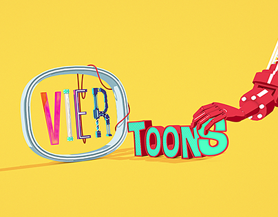 VIER Toons Title Sequence