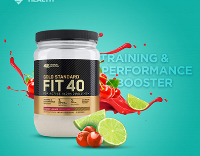 Fit 40 Performance Booster - Cherry Limeade
