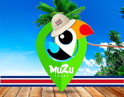 Muzu tours social media