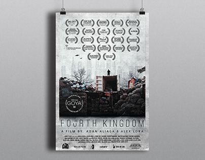 "Gráfico para cortometraje ""The Fourth Kingdom"""