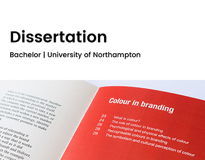 Dissertation | The influence of colour in branding