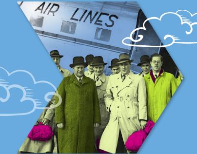 Aviation exhibition designing