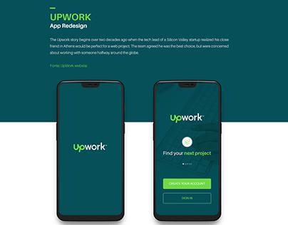 UpWork App - Redesign