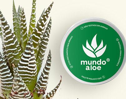 Rótulo para Gel de Aloe Vera Mundo Aloe®