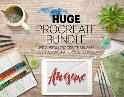 HUGE Procreate Bundle!