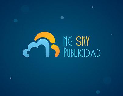 Identidad Corporativa MG Sky Publicidad