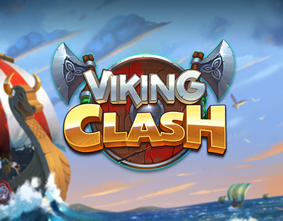 Viking Clash-Game Art