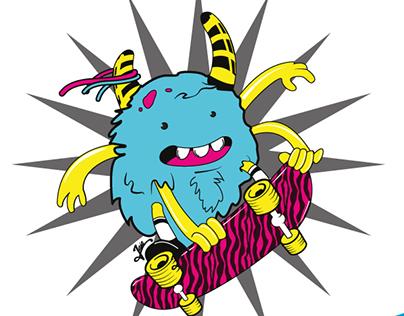 CMYK Monster