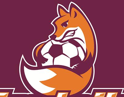Foxtails Girl's Soccer Team Logo