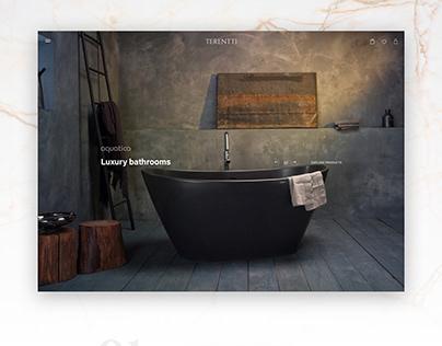 Terentti - E-commerce Website