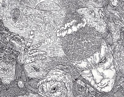 Pen Drawing mix #5