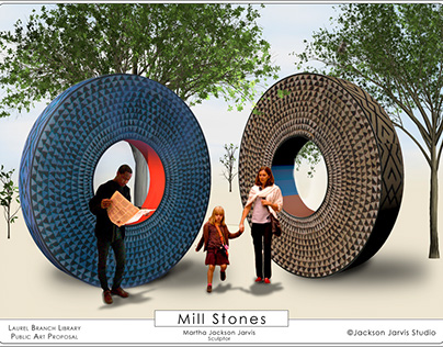 Mill Stones: A Public Art Proposal Cover