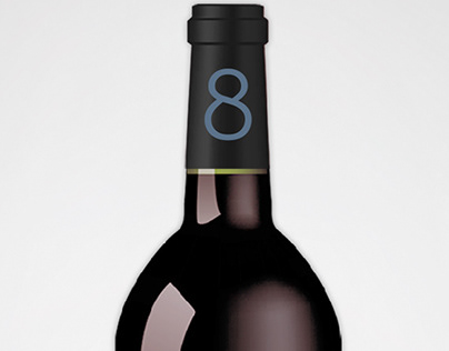 8 Gauchos -Wine -Brand&Identity -Product Label