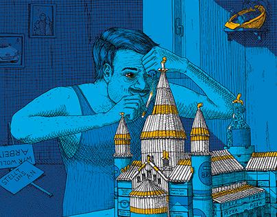 Cover Illustration - Sensor Magazin Nr.56