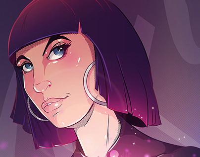 Vixie — Illustration