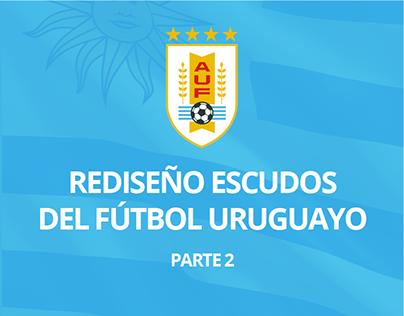 REDISEÑO ESCUDOS DEL FÚTBOL URUGUAYO - PARTE2