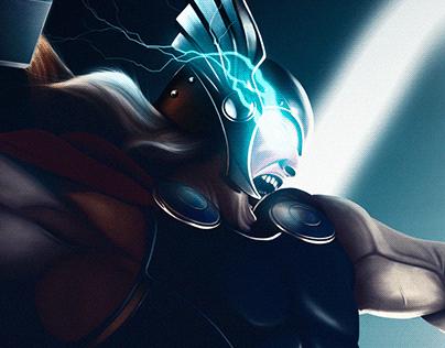 Marvel/DC Digital Paintings