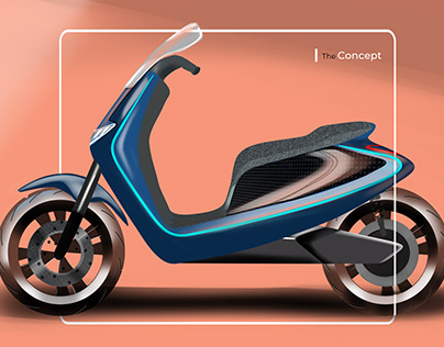 Lexmoto scooter concept- Live industry project