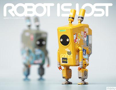 robot is lost | TORA-KUN x GOHST
