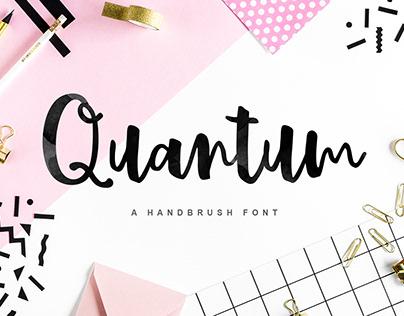 Quantum Brus Font