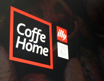 Coffe Home corporate image, stationary & interiors