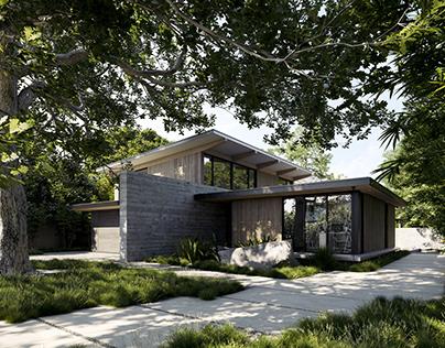 The Sanctuary. Palo Alto. California. Feldman Architect
