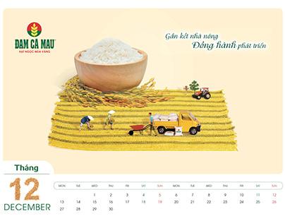 DCM Calendar 2020 miniature