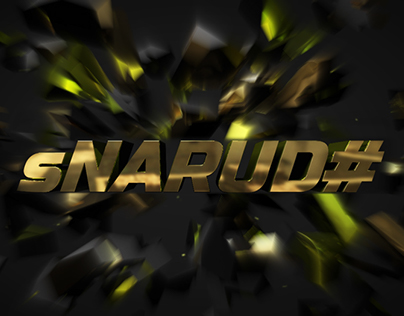 sNARUD# Intro (Motion Graphics)