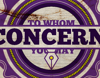 Concept Logo: To Whom You May Concern