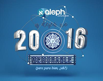 Aleph Comunicación - 3D - Christmas greeting