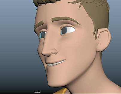 You're Beautiful - A Quick Facial Animation Study