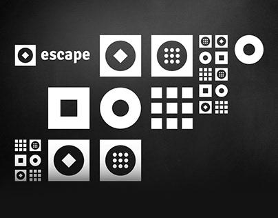 Логотип и фирменный стиль для Escape