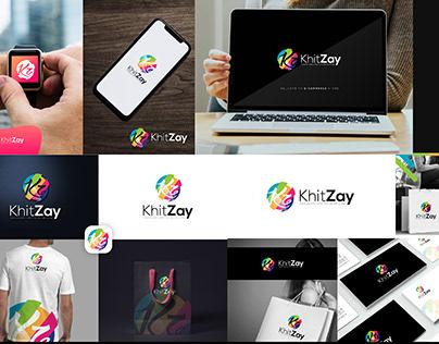 KhitZay Logo Design Project For E-commerce Store
