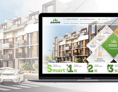 Site for apartment complex