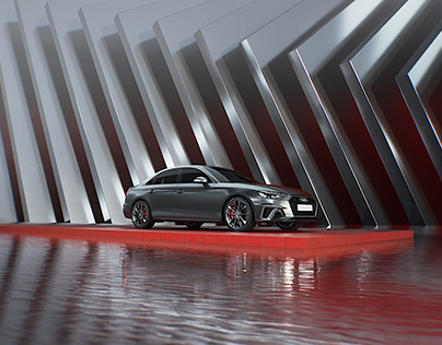 StyleFrame for Audi A4L