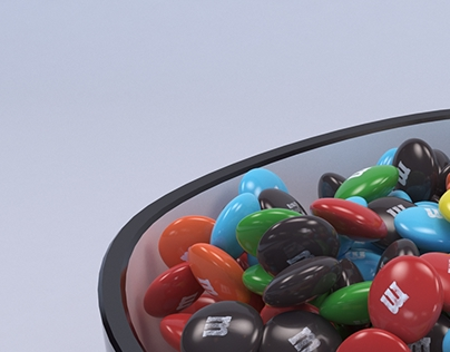 Bowl of M&Ms