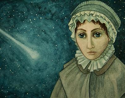 "Caroline Herschel ""Mujeres 3"""