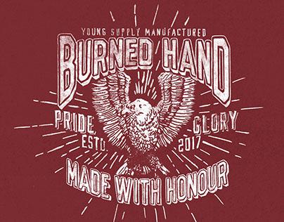 Burned Eagle