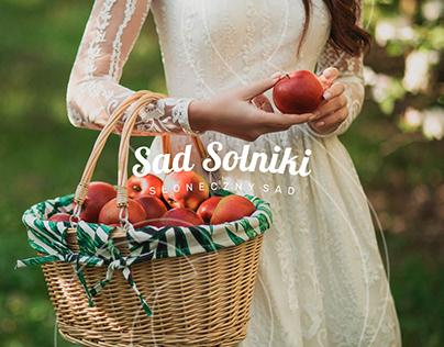 Sad Solniki   Słoneczny Sad Rebranding