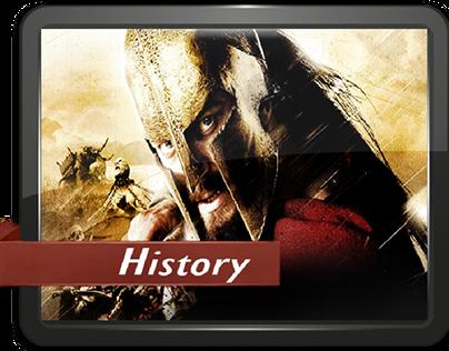 History Genre icon