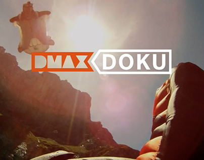DMAX Doku | Logo & Visual Identity