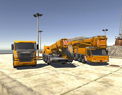 #Unity Crane Simulator v2