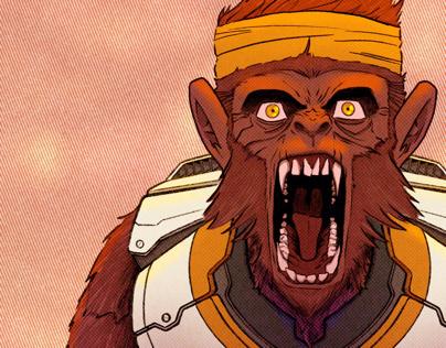 Ape-Axe Predator