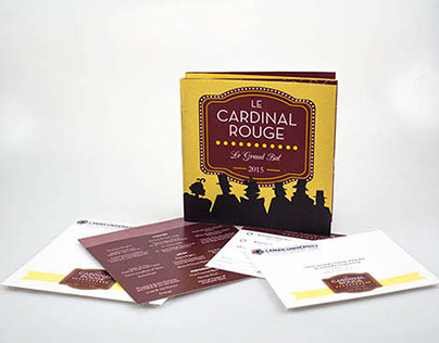 Le Cardinal Rouge Invitation