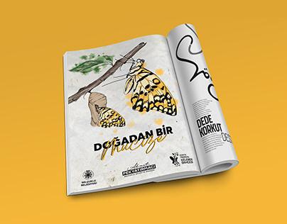 Konya Tropikal Kelebekler Bahçesi / Dergi Reklamı