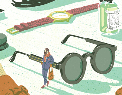 Illustrations for Monocle Magazine