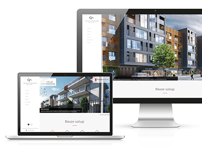 Celka & Frąckowiak Real Estate web design